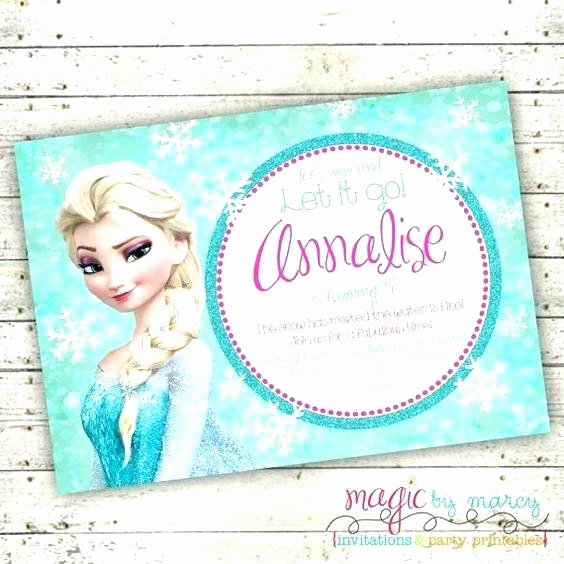Frozen Invite Template Free Luxury Movie Ticket Invitation Free Maker Template Strand Frozen