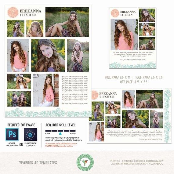 Full Page Ad Template Unique 17 Best Ideas About Middle School Yearbook On Pinterest