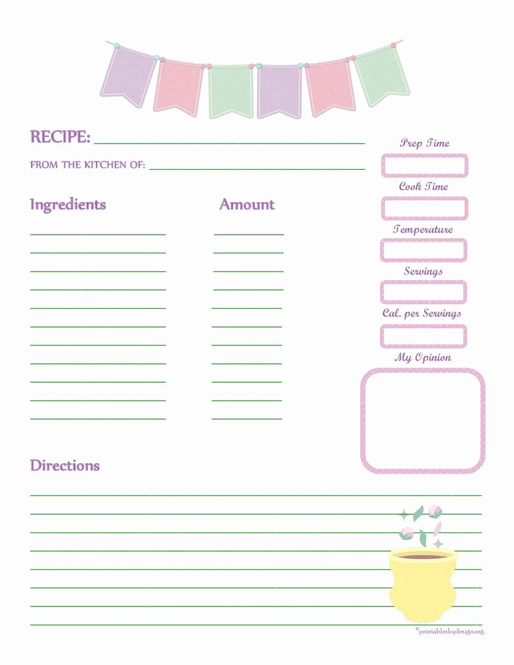 Full Page Recipe Template Elegant 1000 Images About Recipe Templates On Pinterest