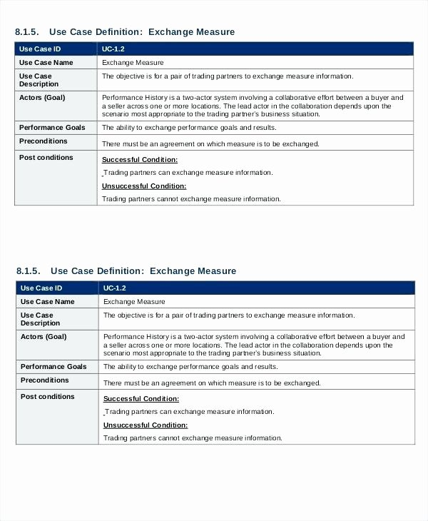 Functional Requirements Template Excel New Requirements Non Functional Template Xls Excel software