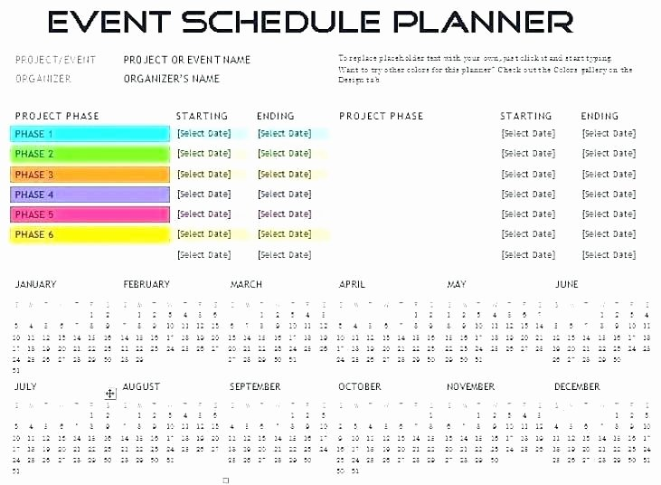 Fundraising event Planning Template Awesome Fundraising Timeline Template