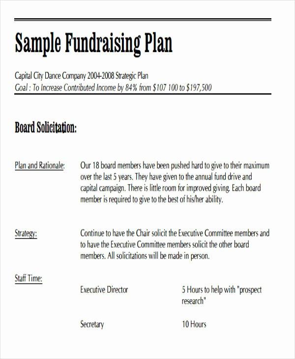Fundraising event Planning Template Elegant 19 event Plan Templates In Pdf