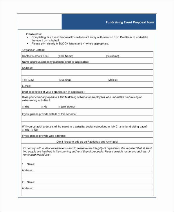 Fundraising event Planning Template Fresh Fundraising Plan Templates