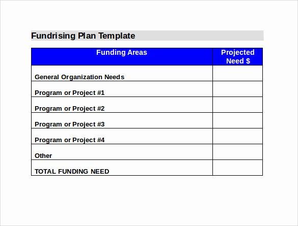 Fundraising Plan Template Free Elegant 11 Fundraising Plan Samples