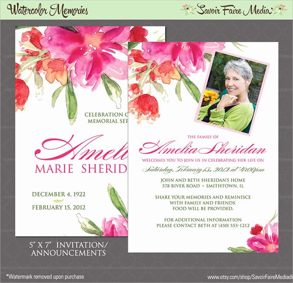Funeral Announcement Template Free Elegant 14 Funeral Notices