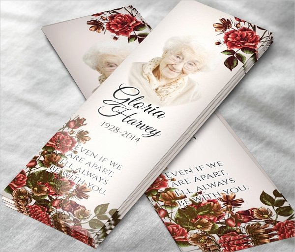 Funeral Bookmarks Template Free Best Of 10 Memorial Bookmarks Templates Free Psd Ai Eps