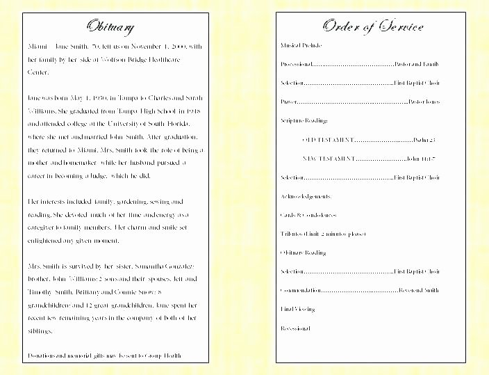 Funeral Mass Program Template Awesome Memorial Mass Program Template Catholic Funeral Mass