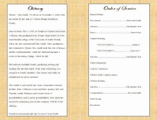 Funeral Mass Program Template Elegant Catholic Funeral Program Free Download Aashe