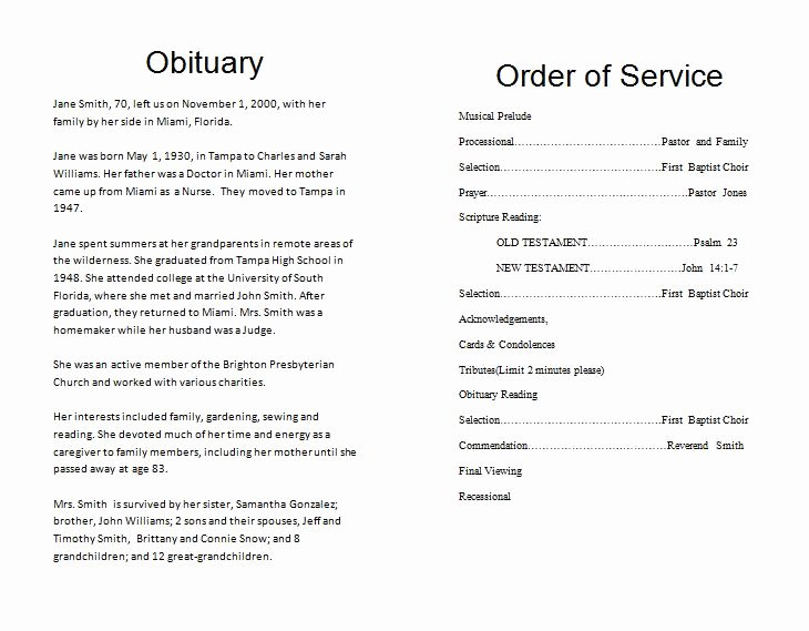 Funeral Mass Program Template Elegant the Funeral Memorial Program Blog Free Funeral Program