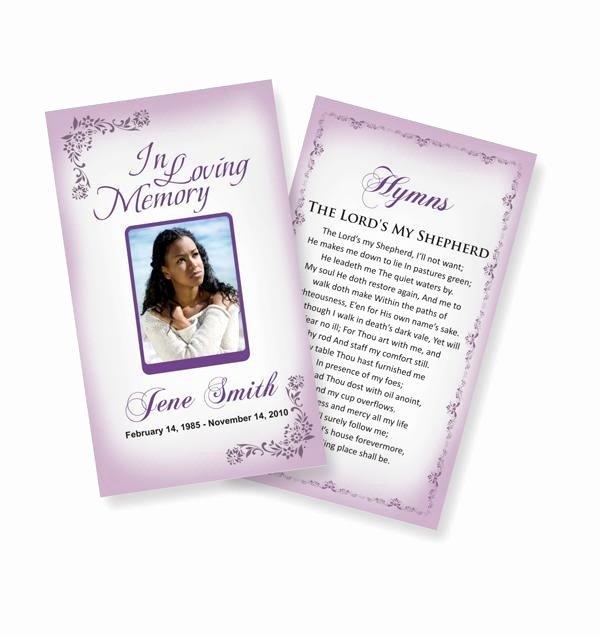 Funeral Prayer Cards Template Beautiful 10 Best Prayer Cards and Templates Images On Pinterest