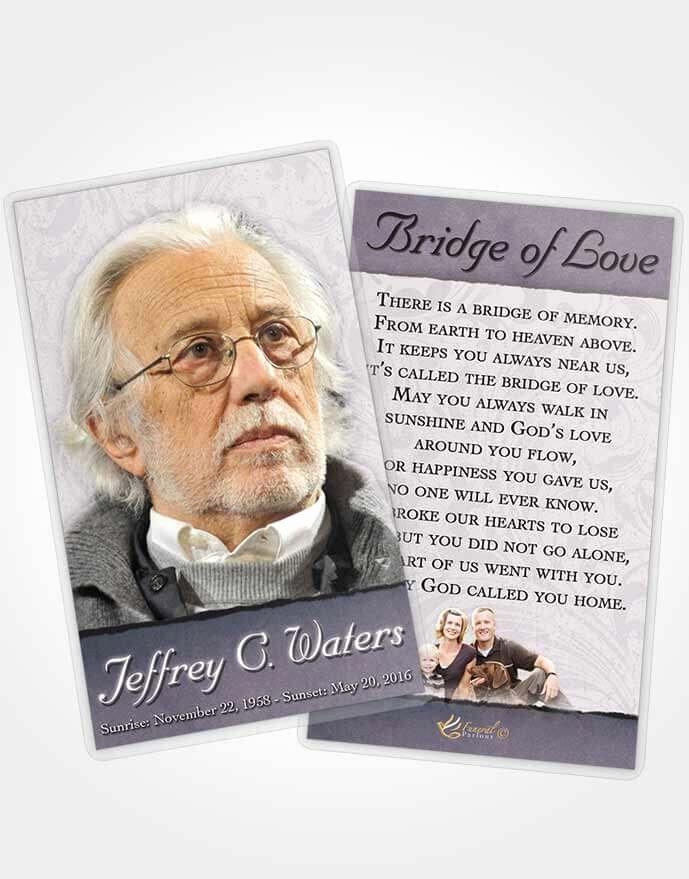 Funeral Prayer Cards Template Best Of Prayer Card Template Peaceful Destiny