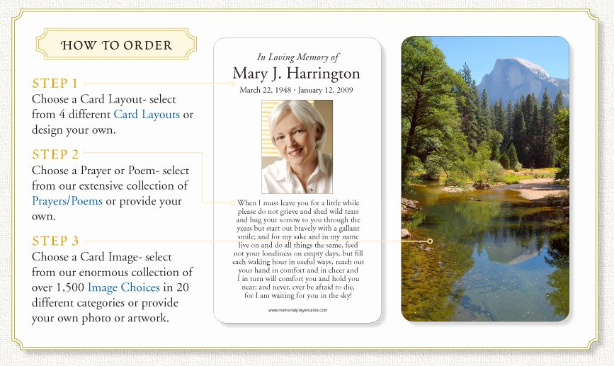 Funeral Prayer Cards Template Inspirational Funeral Prayer Cards