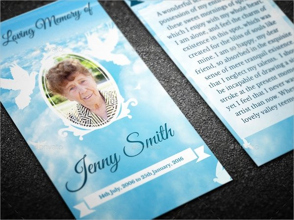 Funeral Prayer Cards Template Luxury 11 Funeral Card Templates Free Psd Ai Eps format