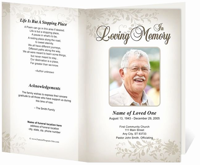 Funeral Program Template Publisher Beautiful 218 Best Images About Creative Memorials with Funeral
