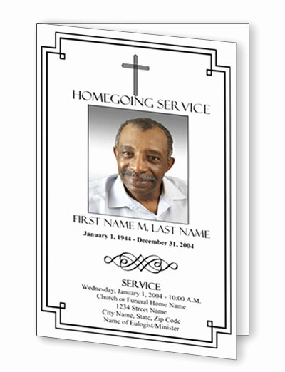 Funeral Program Template Publisher Inspirational Download Bi Fold Templates Publisher Free Filecloudcorner