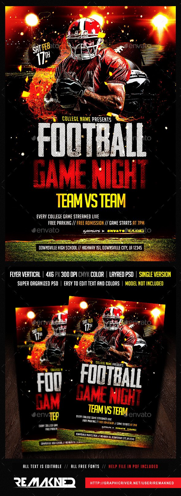 Game Night Flyer Template Awesome College Night Flyer Templetes Dondrup