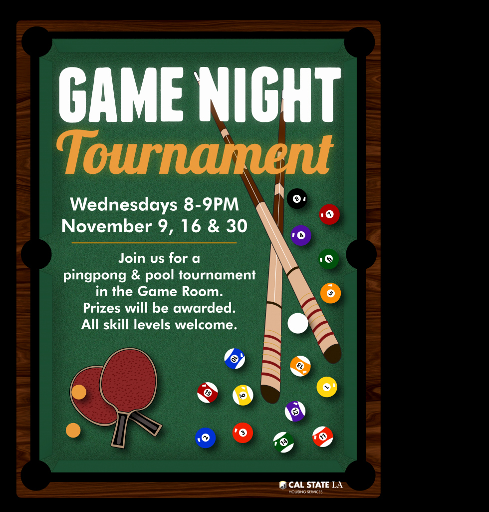 Game Night Flyer Template Luxury Game Night Pingpong & Pool tournament