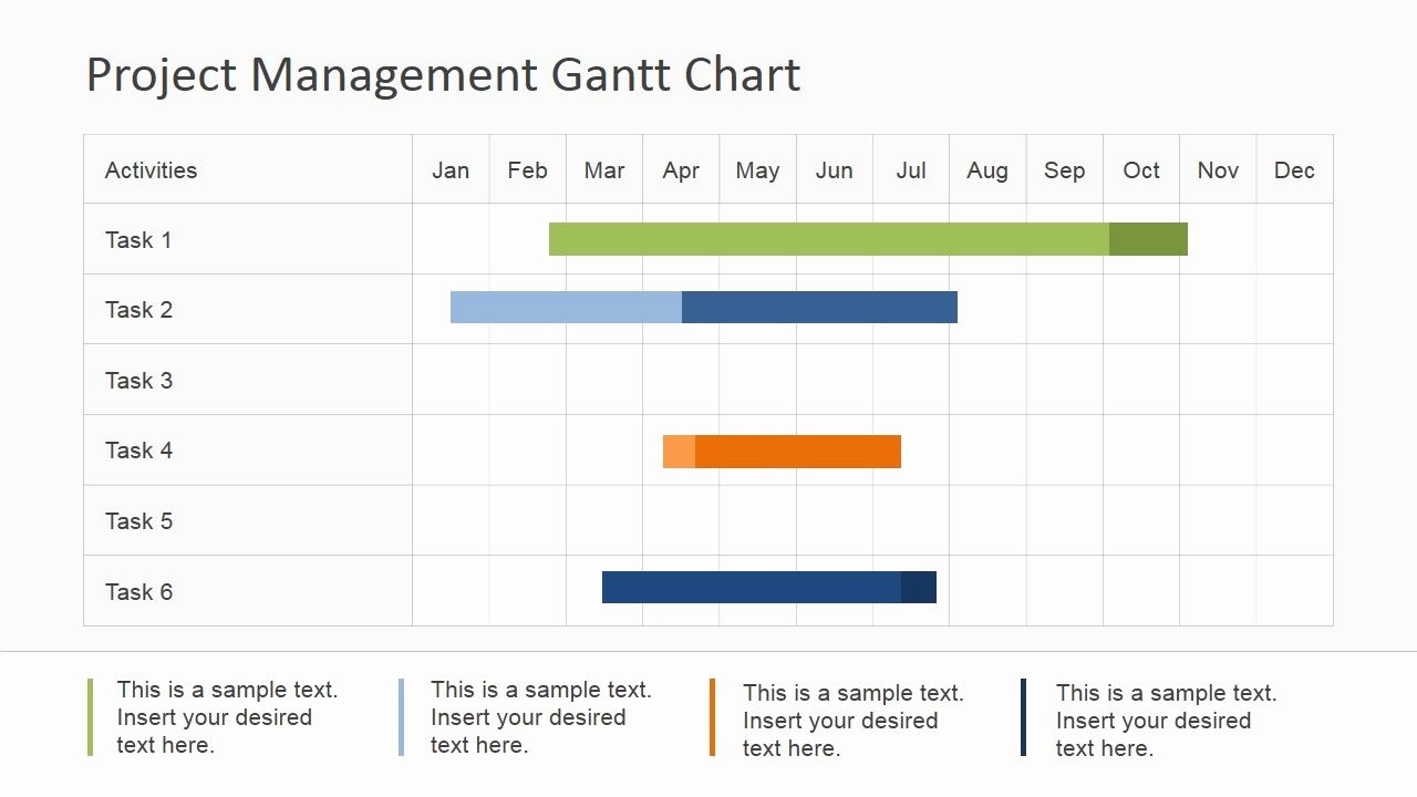 Gantt Chart Powerpoint Template Best Of Project Management Gantt Chart Powerpoint Template