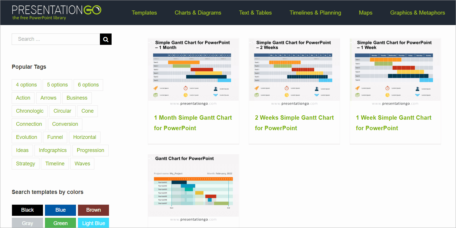 Gantt Chart Powerpoint Template Fresh Free Gantt Chart Templates for Powerpoint Presentations