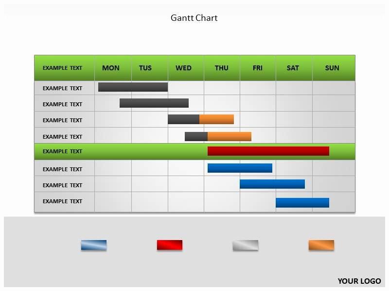 Gantt Chart Powerpoint Template Luxury Gantt Chart Powerpoint Templates and Backgrounds