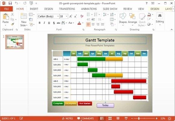 Gantt Chart Template Powerpoint New 10 Useful Gantt Chart tools & Templates for Project Management