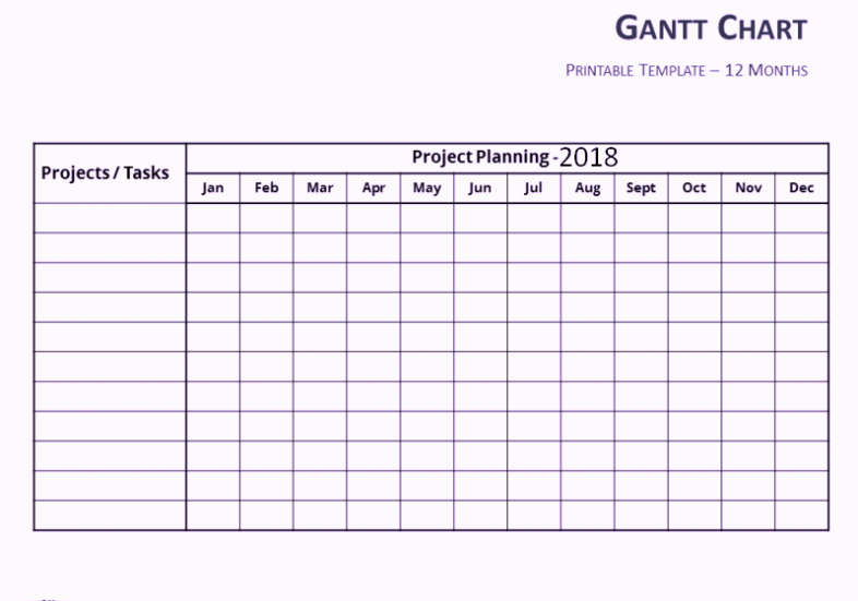 Gantt Chart Template Word Elegant Free Gantt Chart Template Excel Word