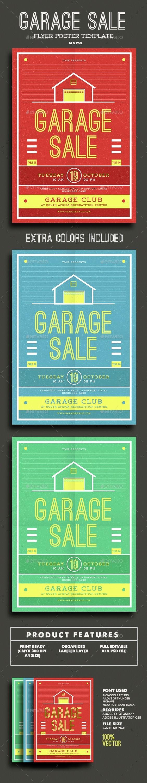 Garage Sale Flyer Template Best Of Garage Sale Flyer