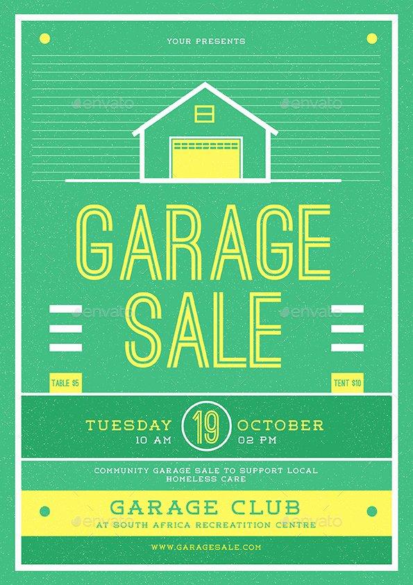 Garage Sale Flyer Template Elegant Garage Sale Flyer by Guuver