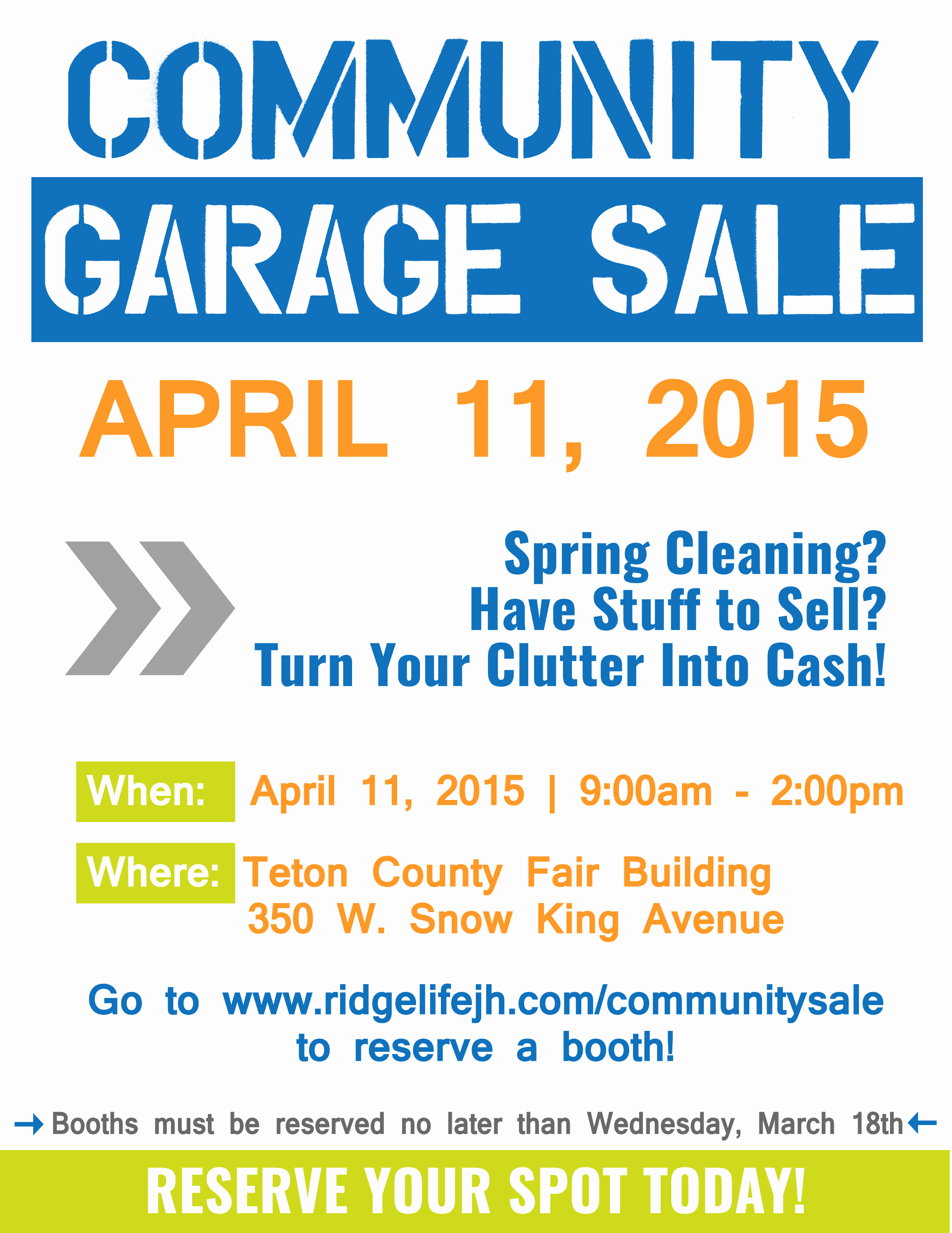 Garage Sale Flyer Template Lovely Munity Garage Sale – Ridgelife Church