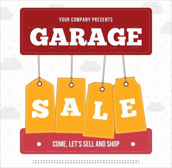 Garage Sale Flyer Template Luxury 27 Yard Sale Flyer Templates