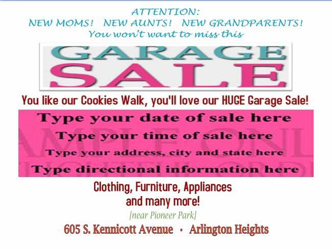 Garage Sale Flyer Template Luxury Free Printable Garage Sale Flyers Templates attract More