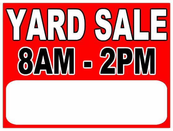 Garage Sale Sign Template Elegant Garage Sale 112