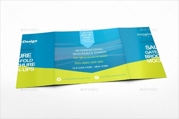Gate Fold Brochure Template Beautiful 21 Gate Fold Brochure Mockups