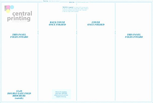 Gate Fold Brochure Template Beautiful Double Gate Fold Brochure Template 14 Standard Types