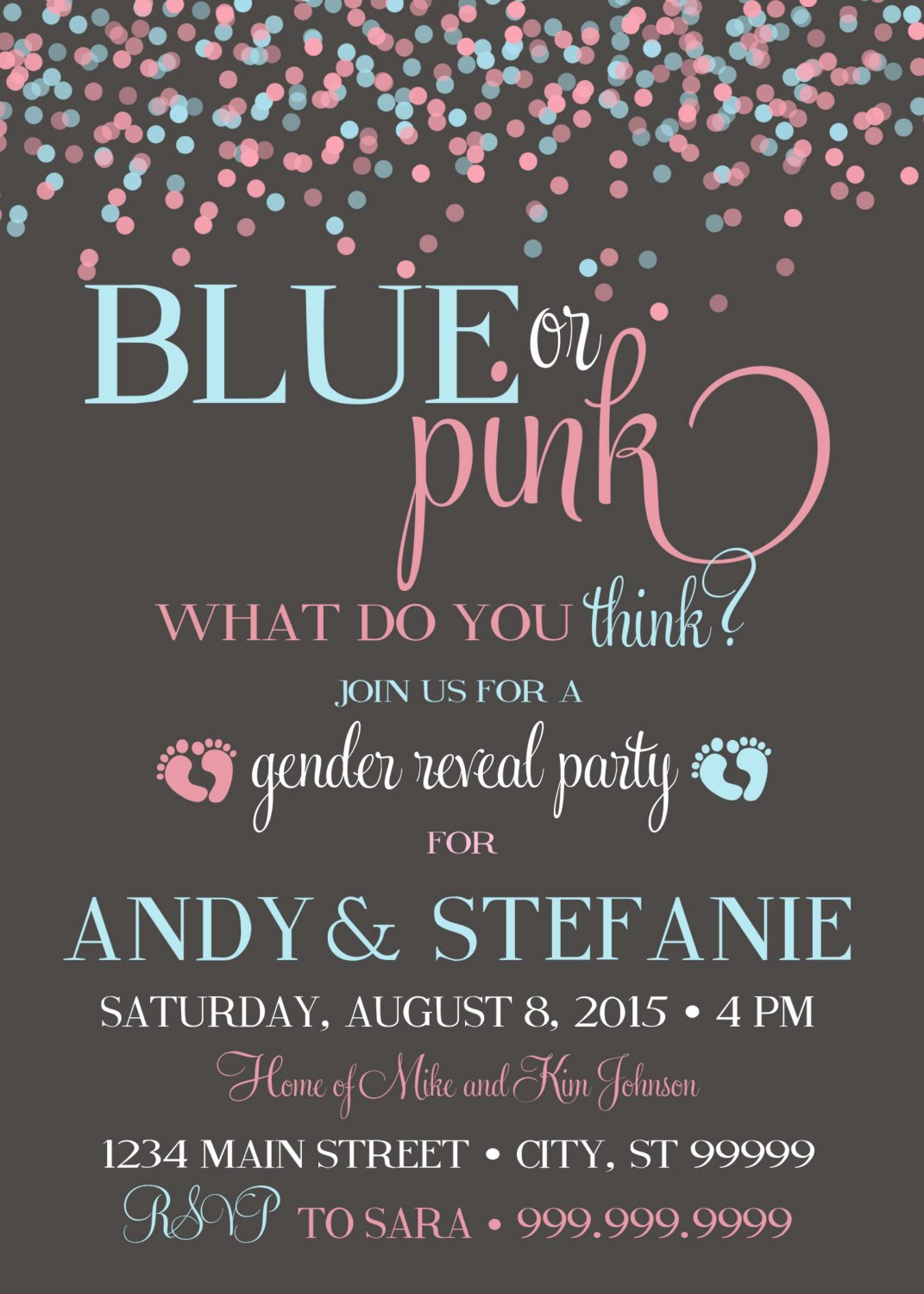 Gender Reveal Invitation Template Luxury 10 Baby Gender Reveal Party Ideas