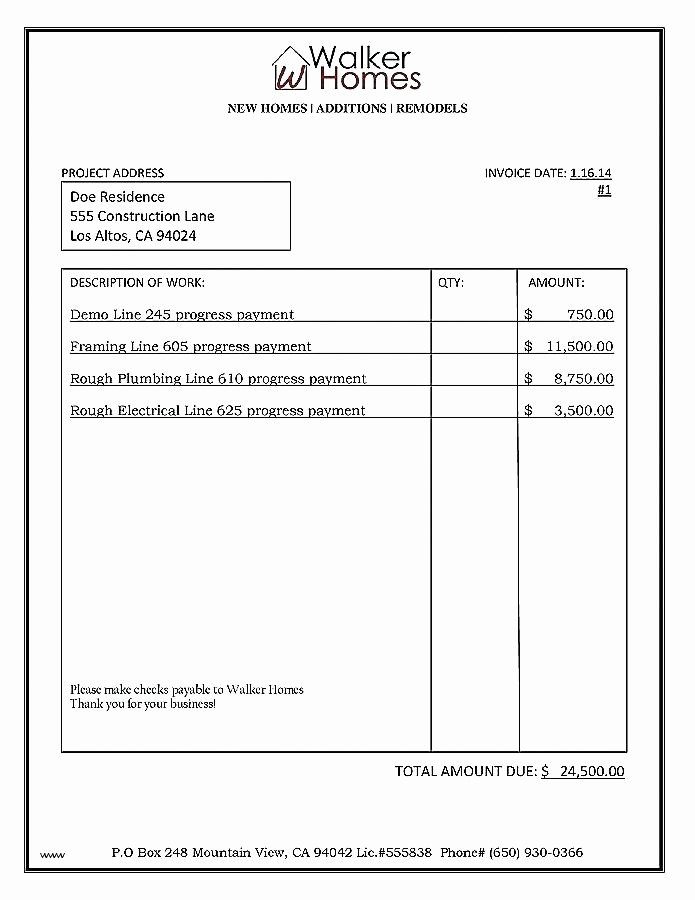 General Contractor Proposal Template Elegant Medium to Size Contractor Template General Bid