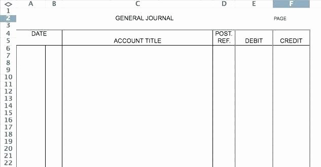 General Journal Template Excel Best Of Bookkeeping Ledger Templates Free Printable Blank forms