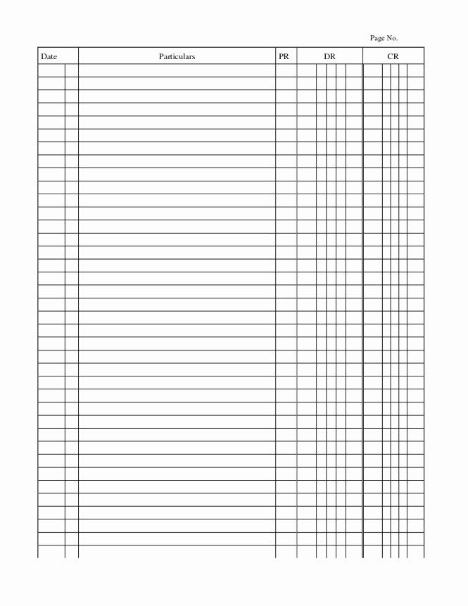 General Journal Template Excel Elegant 4 Free General Journal Templates Word Excel Pdf formats
