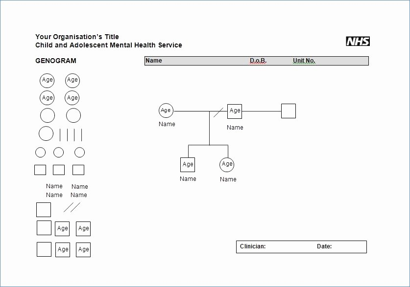 Genogram Template for Mac Beautiful New Genogram Template for Mac – Free Template Design