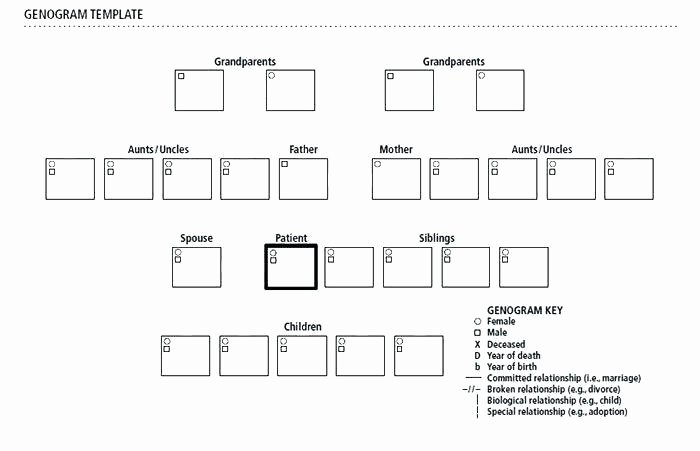 Genogram Template for Macs Beautiful Template for Macs Inspirational Blank Free Download Maker