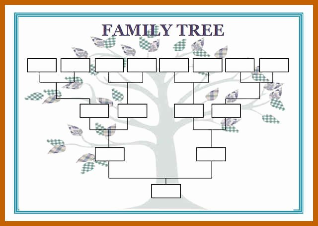 Genogram Template for Macs Inspirational 5 6 Genogram Template Word
