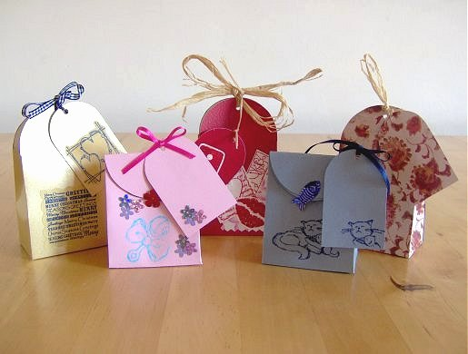 Gift Bag Tag Template Beautiful Things to Make and Do Make A Small T Bag