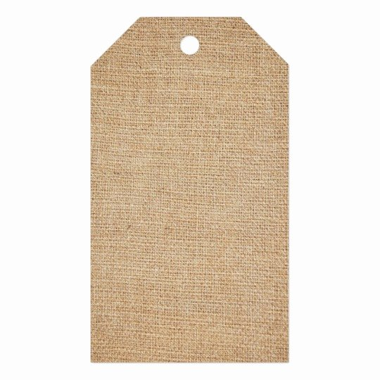 Gift Bag Tag Template Elegant Template Burlap Background Gift Tags