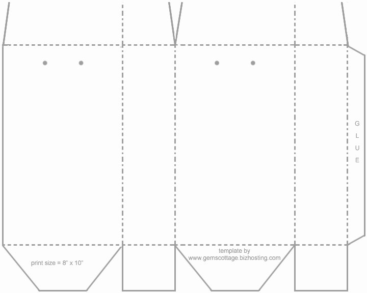 post templates for goo bags