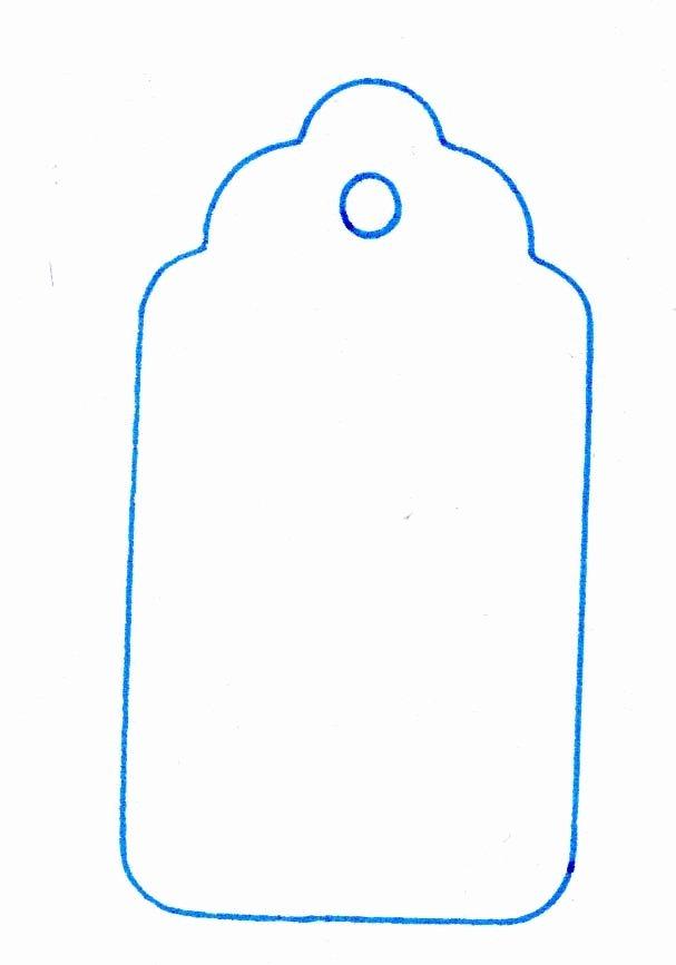 Gift Bag Tag Template Unique Bag tools Bag Tag Template