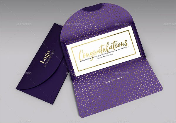 Gift Card Envelope Template Best Of 9 Gift Card Envelopes Free Psd Vector Ai Eps format