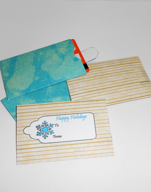 Gift Card Envelope Template Lovely Diy Gift Card Envelopes Gift Card Envelope by Tlcreations73