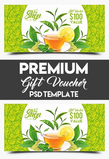 Gift Card Template Psd Elegant Minimal – Free Gift Certificate Psd Template – by Elegantflyer