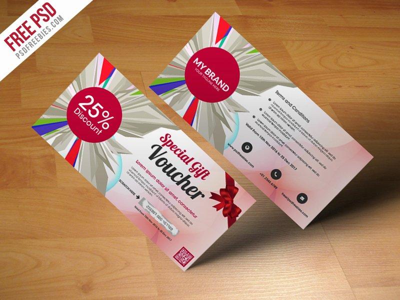 Gift Card Template Psd Fresh Christmas Greeting Card Free Psd Psdfreebies