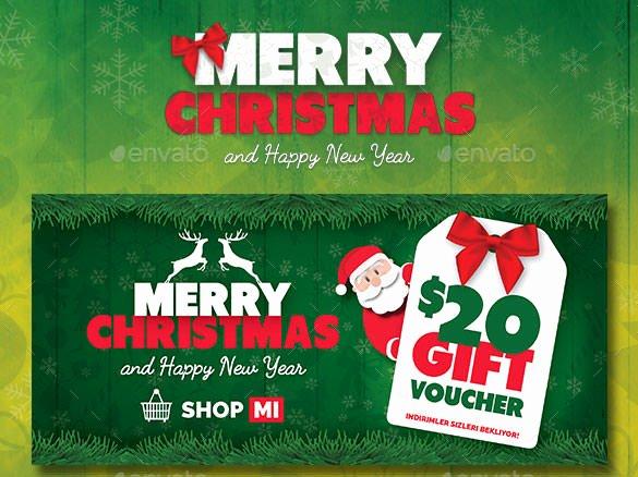 Gift Card Template Psd Inspirational 150 Christmas Card Templates – Free Psd Eps Vector Ai